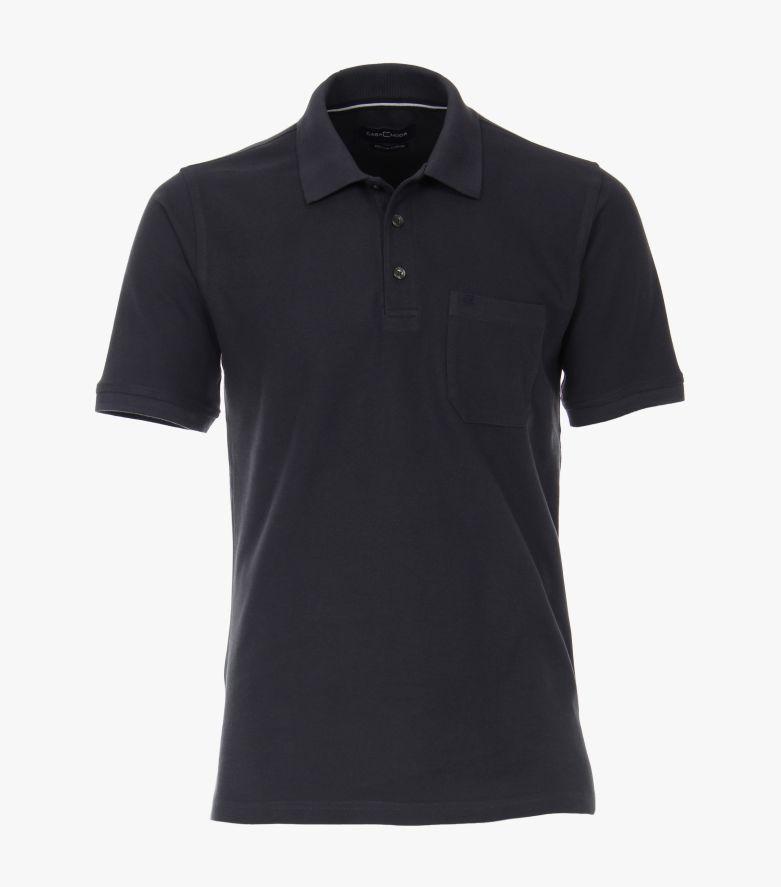 Polo-Shirt in Dunkelgrau - CASAMODA