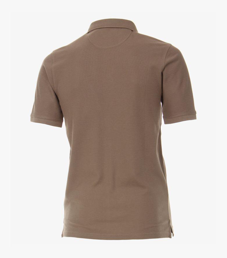 Polo-Shirt in Hellbraun - CASAMODA