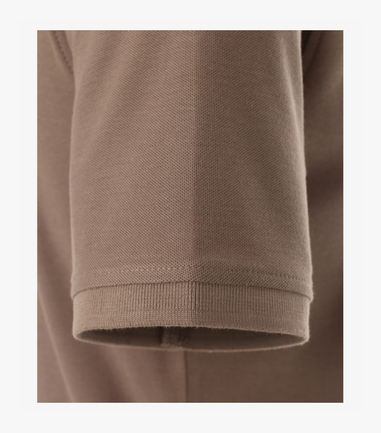 Polo-Shirt in Hellbraun - CASAMODA