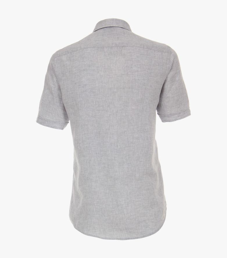 Leinenhemd in Hellgrau Casual Fit - CASAMODA