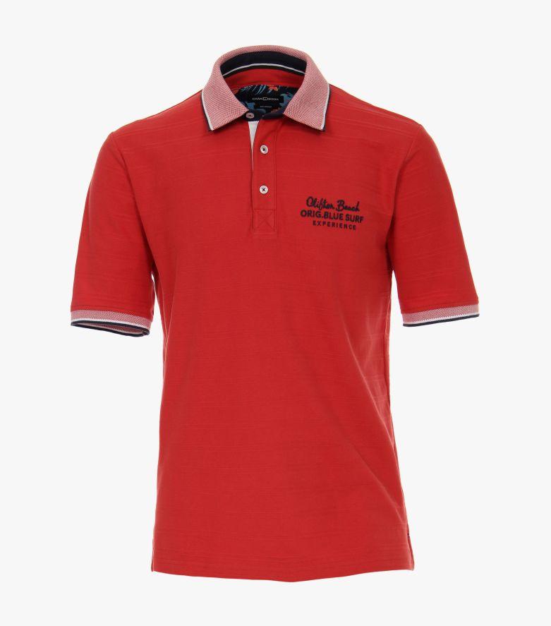 Polo-Shirt in Rot - CASAMODA