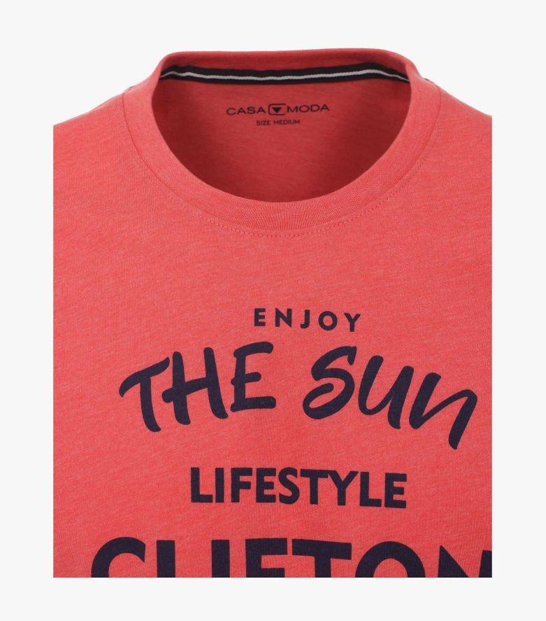 T-Shirt in Rot - CASAMODA