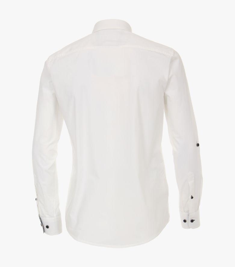 Freizeithemd in Weiß Casual Fit - CASAMODA