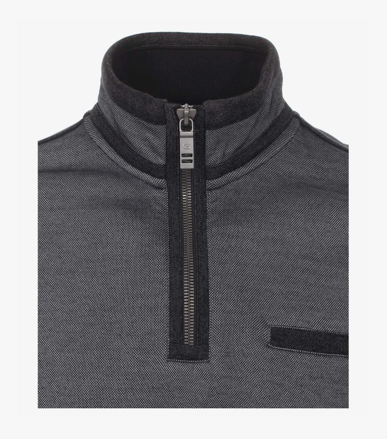Sweatshirt in Grau - CASAMODA