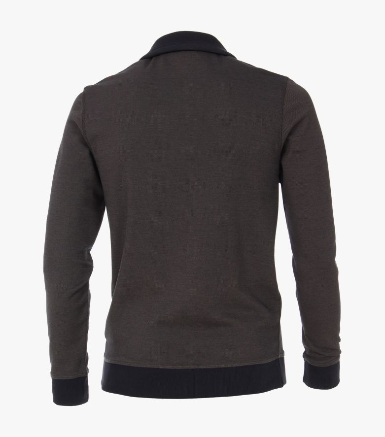 Sweatshirt in Schlamm - CASAMODA