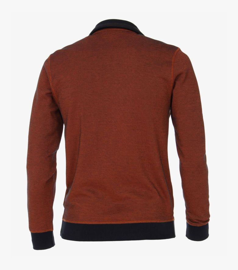 Sweatshirt in Dunkelorange - CASAMODA
