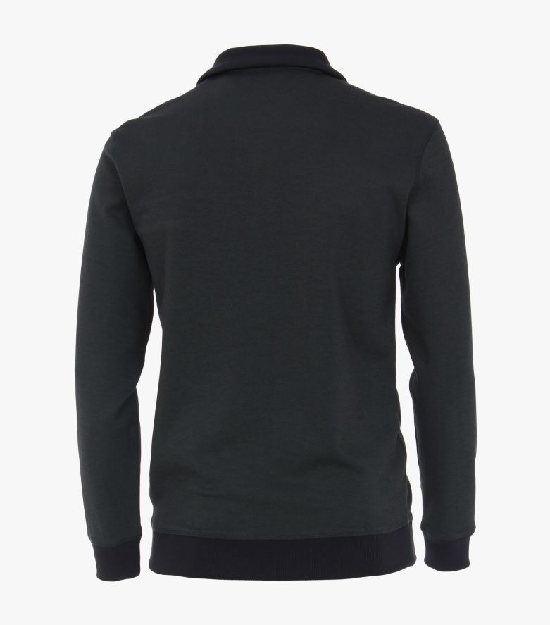 Sweatshirt in Dunkelgrün - CASAMODA
