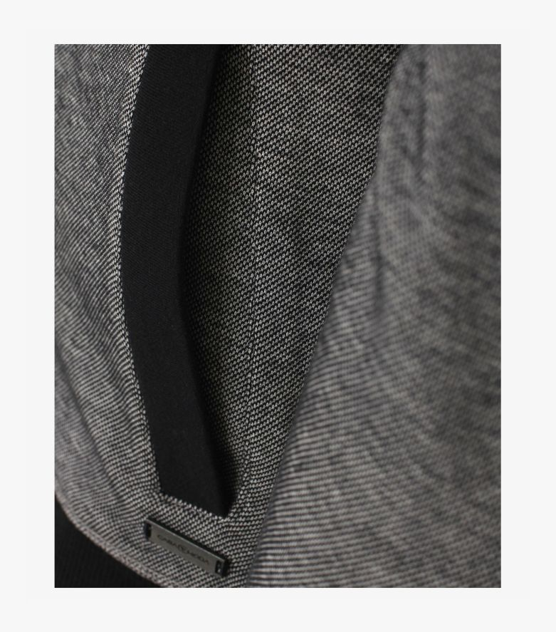 Sweatjacke in graues Mittelblau - CASAMODA