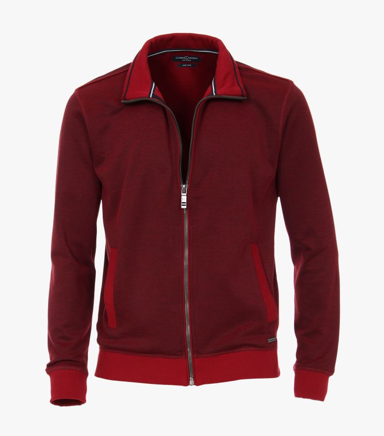 Sweatjacke in Rot - CASAMODA