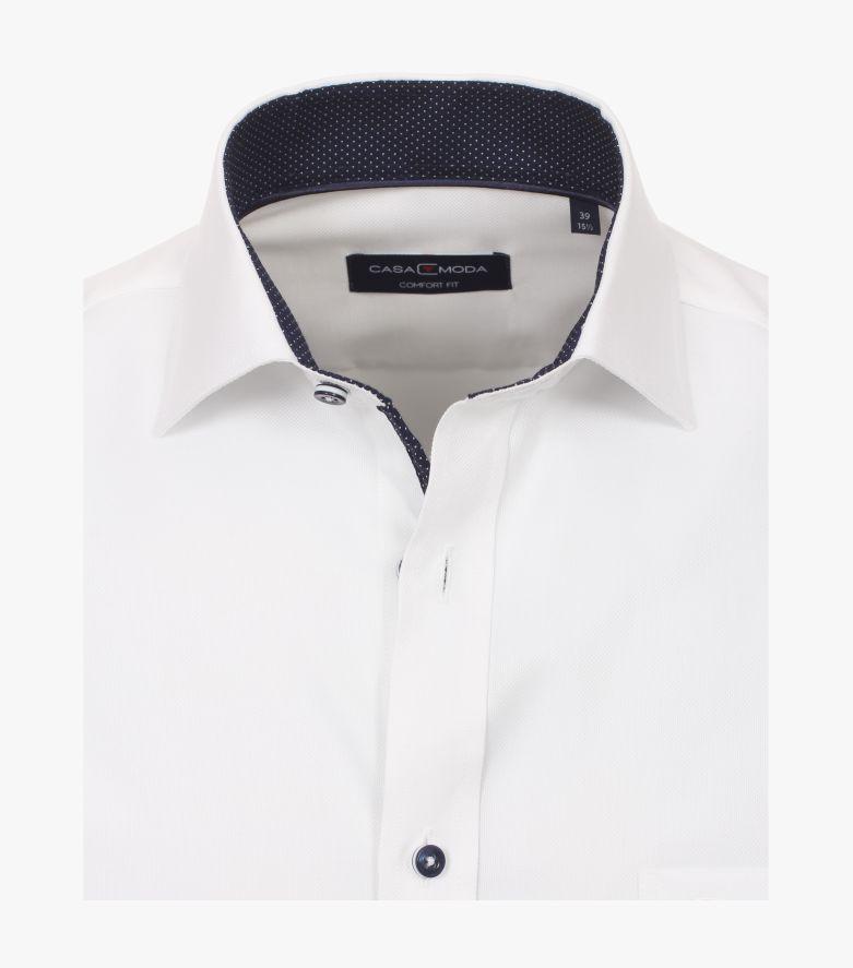 Businesshemd in Weiß Comfort Fit - CASAMODA