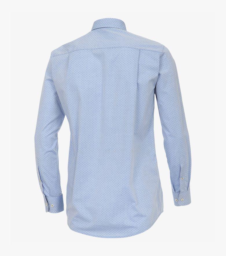 Freizeithemd in Azurblau Comfort Fit - CASAMODA