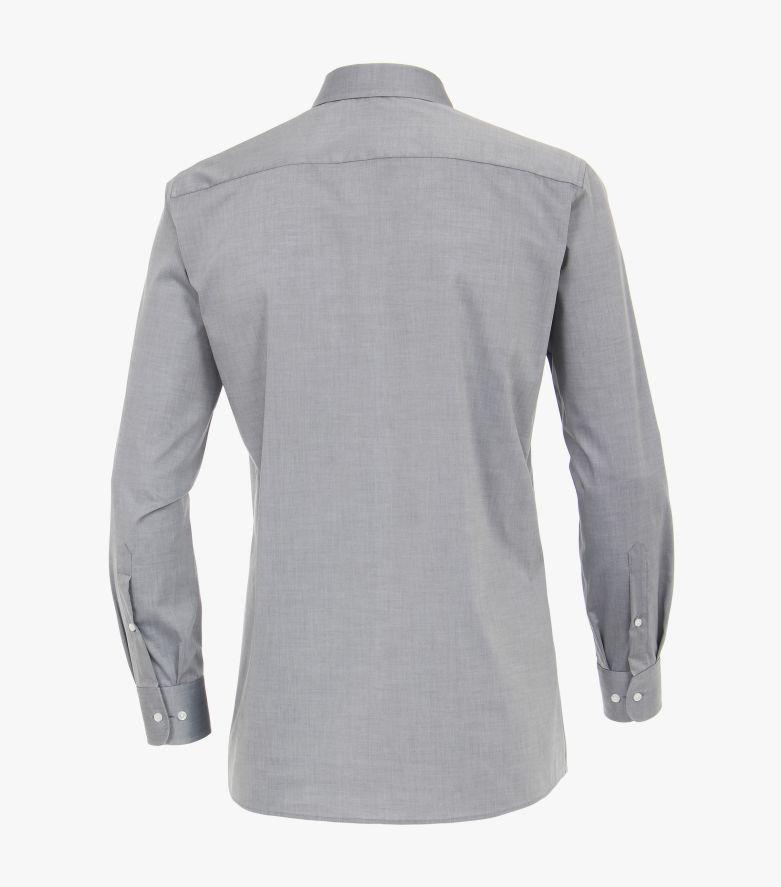 Businesshemd extra langer Arm 72cm in Grau Modern Fit - CASAMODA