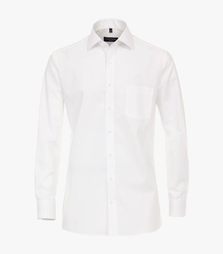 Businesshemd extra langer Arm 72cm in Weiß Modern Fit - CASAMODA