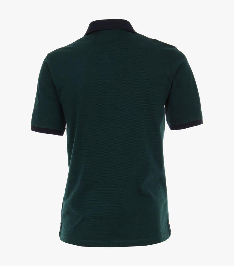Polo-Shirt in Dunkelgrün - CASAMODA