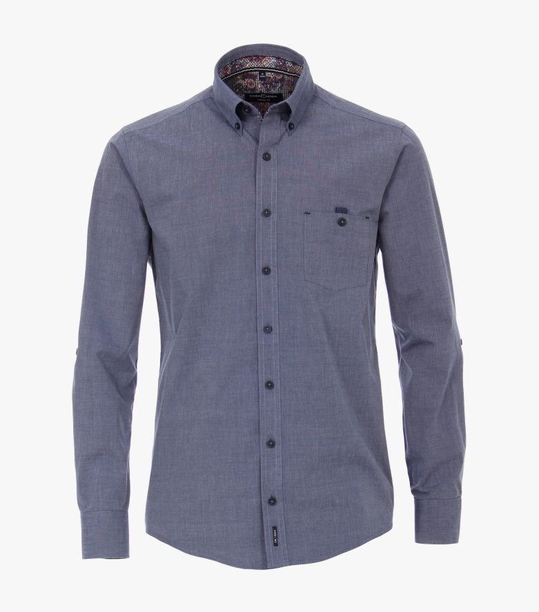 Freizeithemd in Blau Casual Fit - CASAMODA