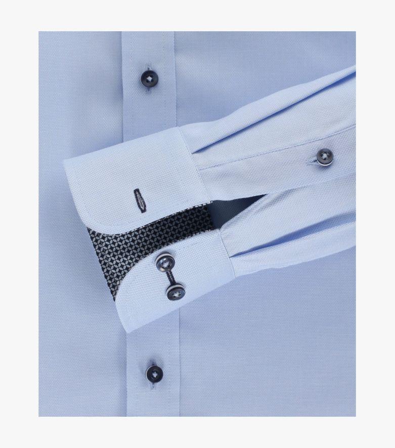 Businesshemd in Azurblau Modern Fit - CASAMODA