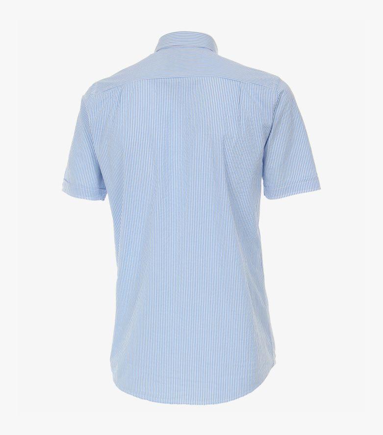 Freizeithemd Kurzarm in Hellblau Comfort Fit - CASAMODA