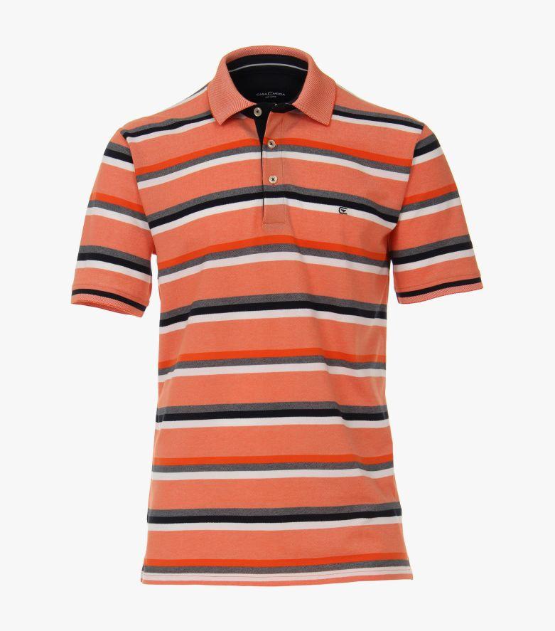 Polo-Shirt in Orange - CASAMODA