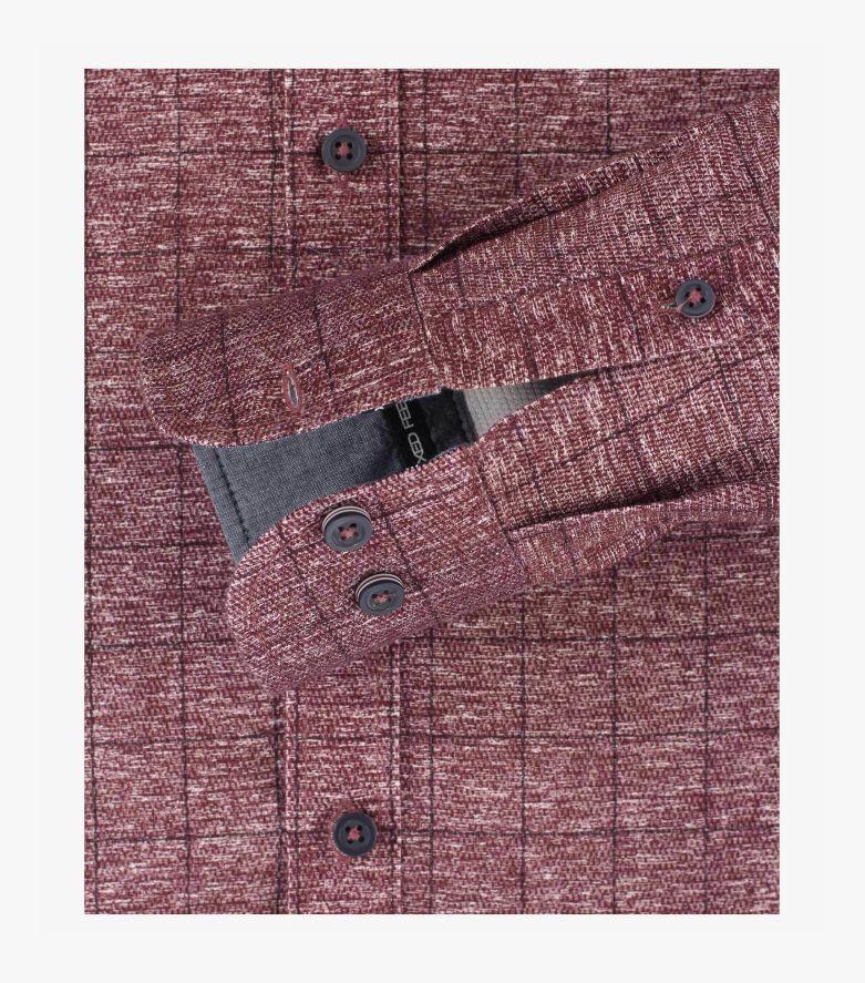 Freizeithemd in Rot Casual Fit - CASAMODA