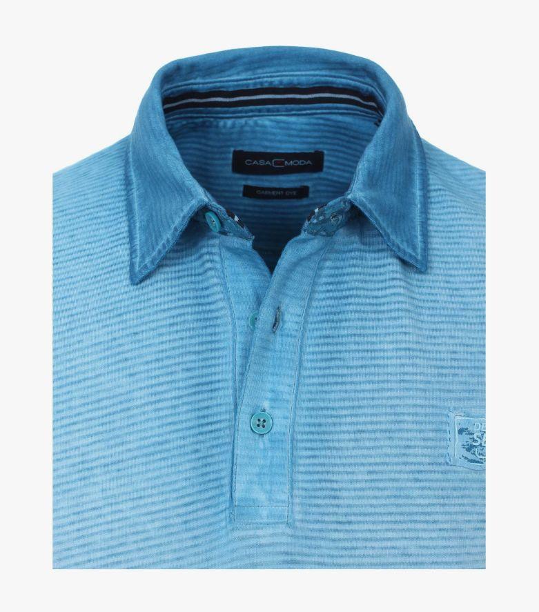 Polo-Shirt in Aqua - CASAMODA