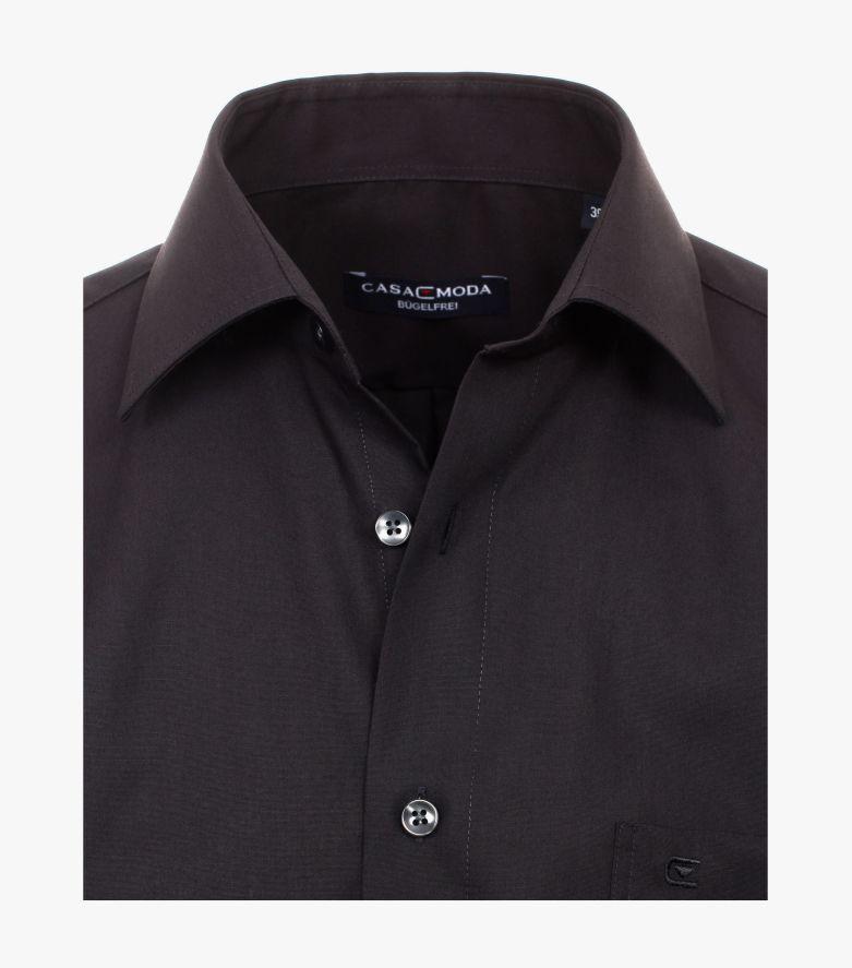 Businesshemd extra langer Arm 69cm in Schwarz Comfort Fit - CASAMODA