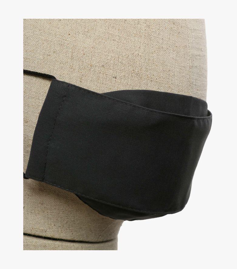 Mund-Nasen-Maske Doppelpack Kinder in Dunkelgrau - CASAMODA