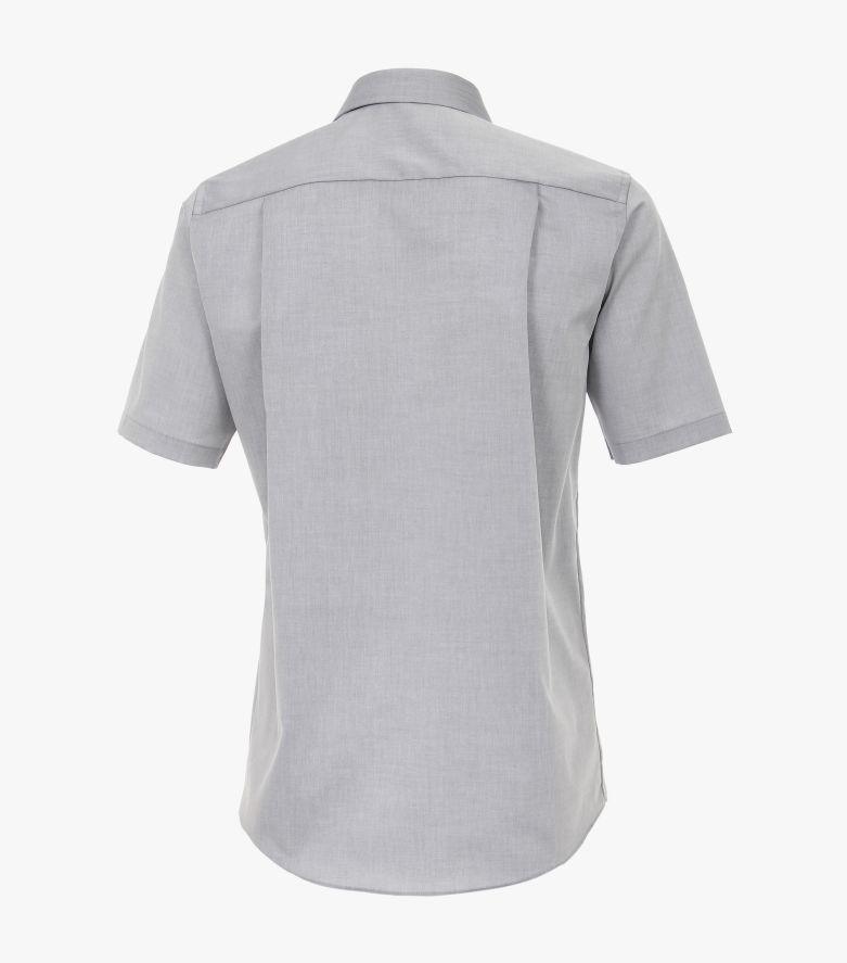 Businesshemd Kurzarm in Grau Comfort Fit - CASAMODA