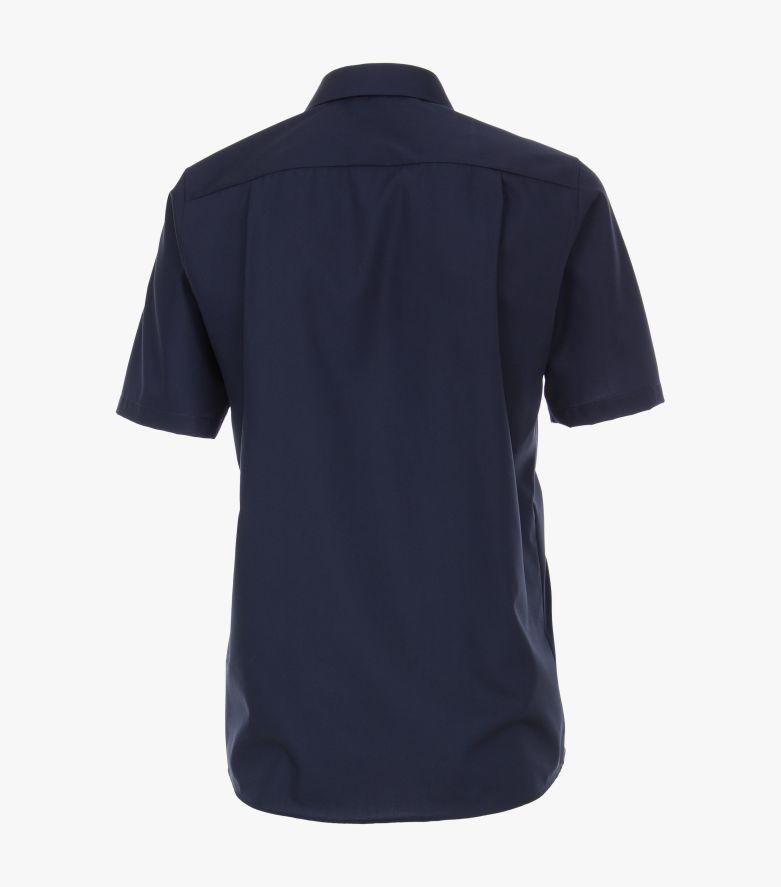 Businesshemd Kurzarm in mittleres Dunkelblau Comfort Fit - CASAMODA