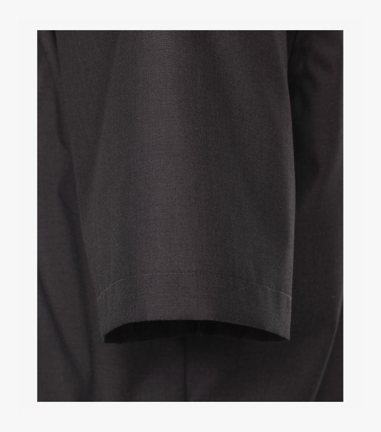 Businesshemd Kurzarm in Grauschwarz Comfort Fit - CASAMODA
