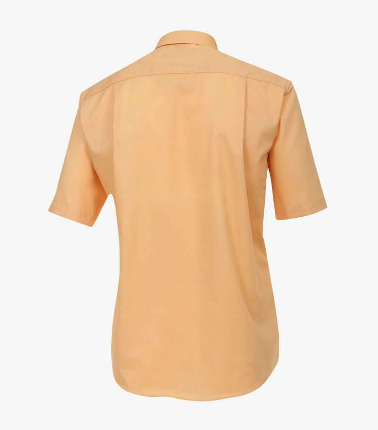 Businesshemd Kurzarm in Orange Comfort Fit - CASAMODA