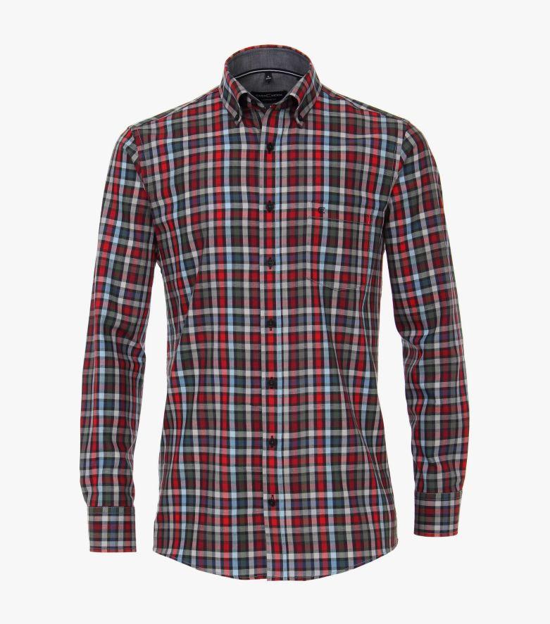 Freizeithemd in Rot Comfort Fit - CASAMODA