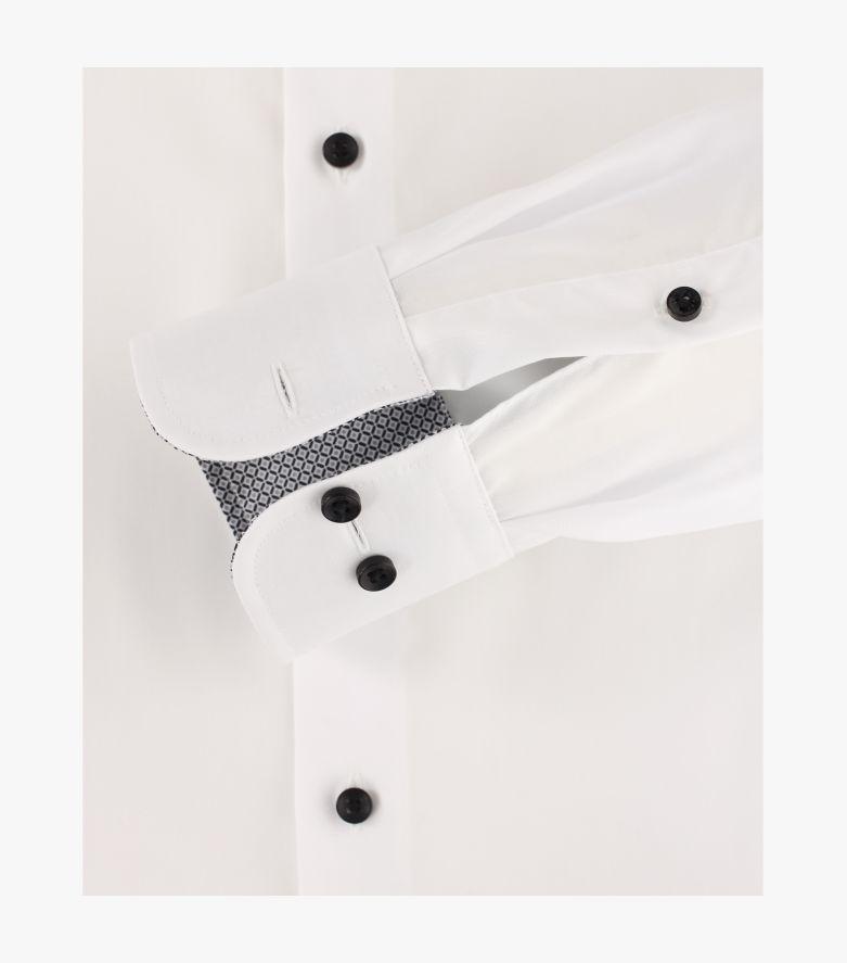Businesshemd extra langer Arm 72cm in Schneeweiß Modern Fit - CASAMODA