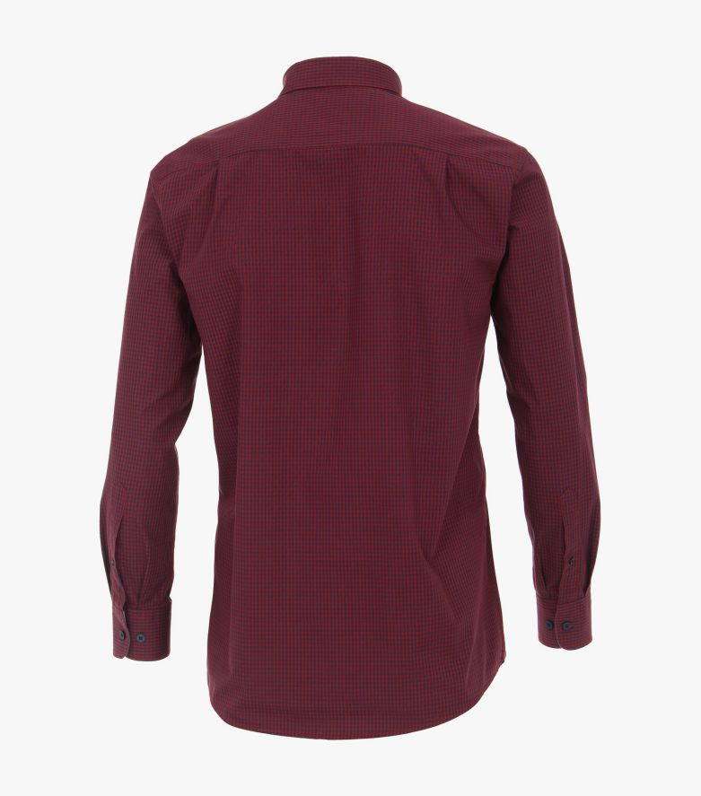 Freizeithemd in Dunkelrot Comfort Fit - CASAMODA