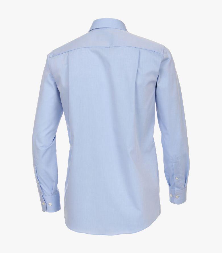 Businesshemd extra kurzer Arm 58cm in Azurblau Comfort Fit - CASAMODA