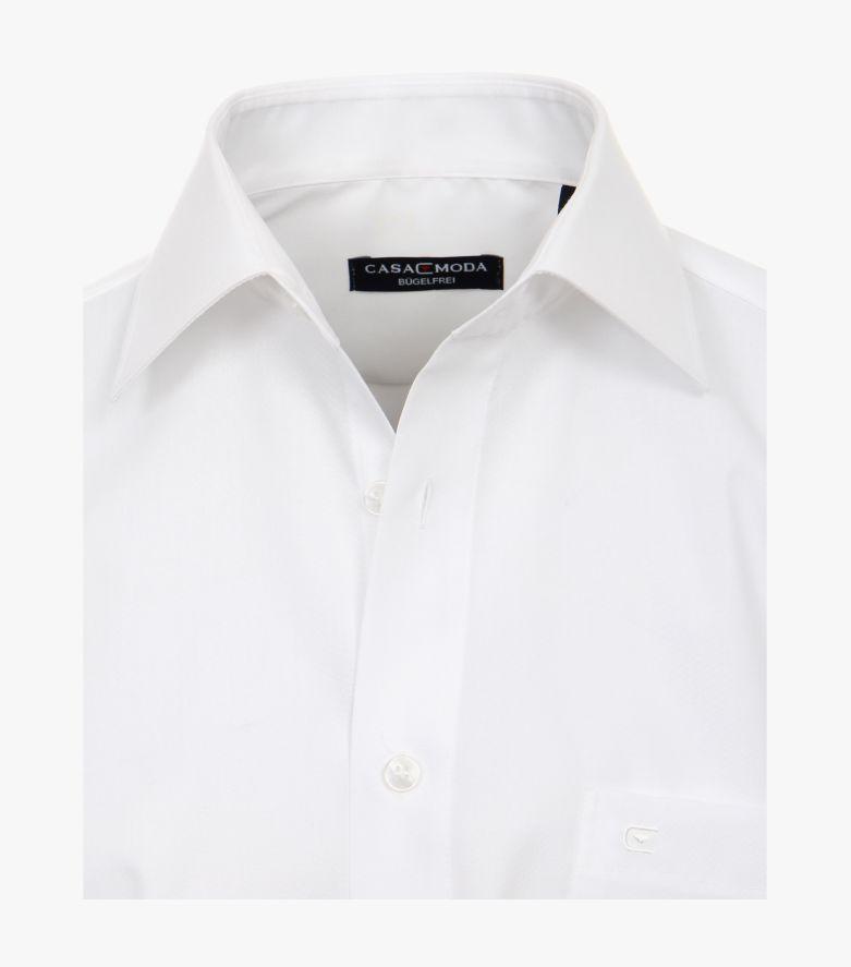 Businesshemd extra kurzer Arm 58cm in Weiß Comfort Fit - CASAMODA