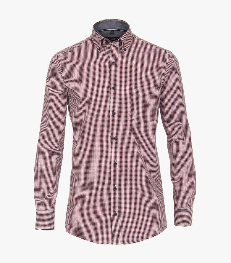 Freizeithemd in 400 rot Comfort Fit - CASAMODA