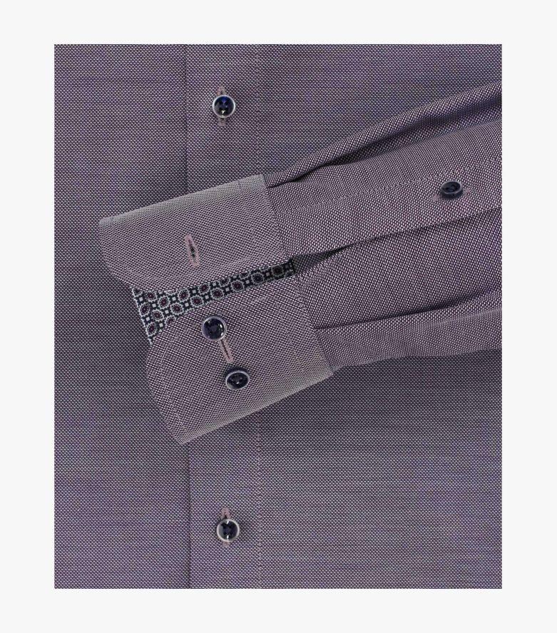 Businesshemd extra langer Arm 72cm in Beere Comfort Fit - CASAMODA