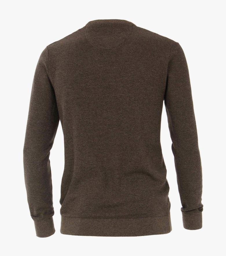 Pullover extra lang in Beige - CASAMODA