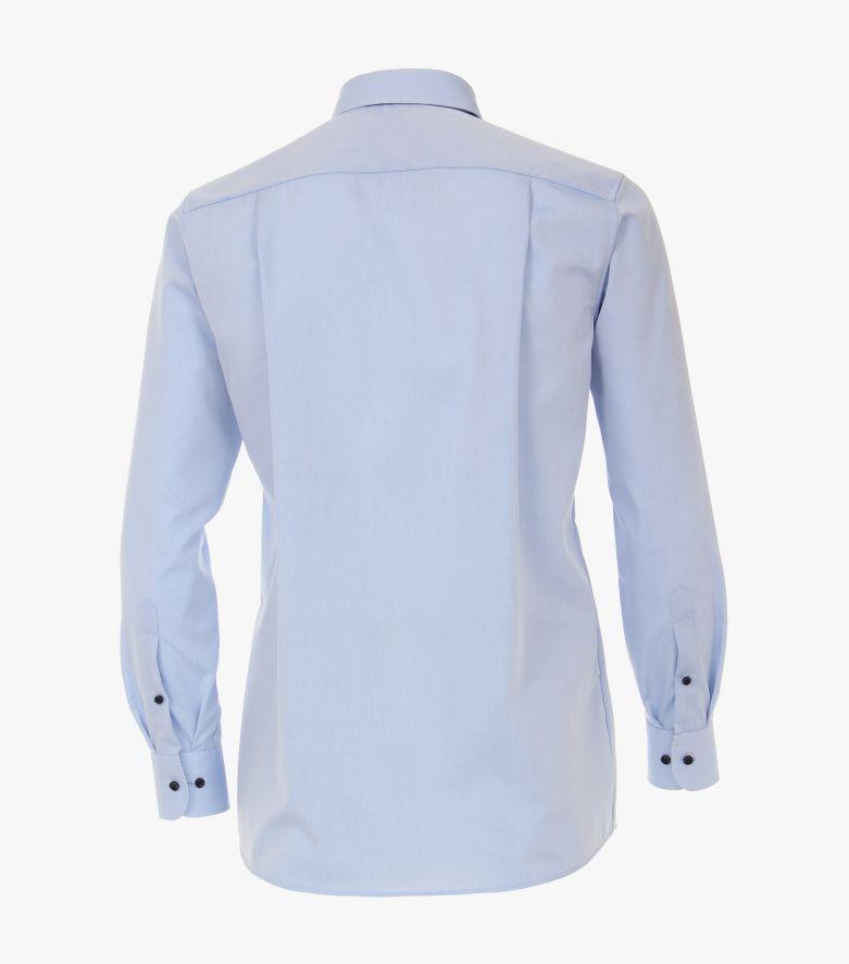 Businesshemd extra kurzer Arm 58cm in Hellblau Comfort Fit - CASAMODA