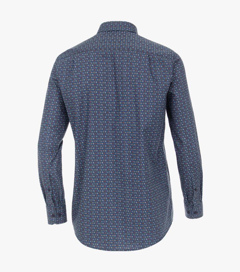 Freizeithemd in 100 blau Casual Fit - CASAMODA