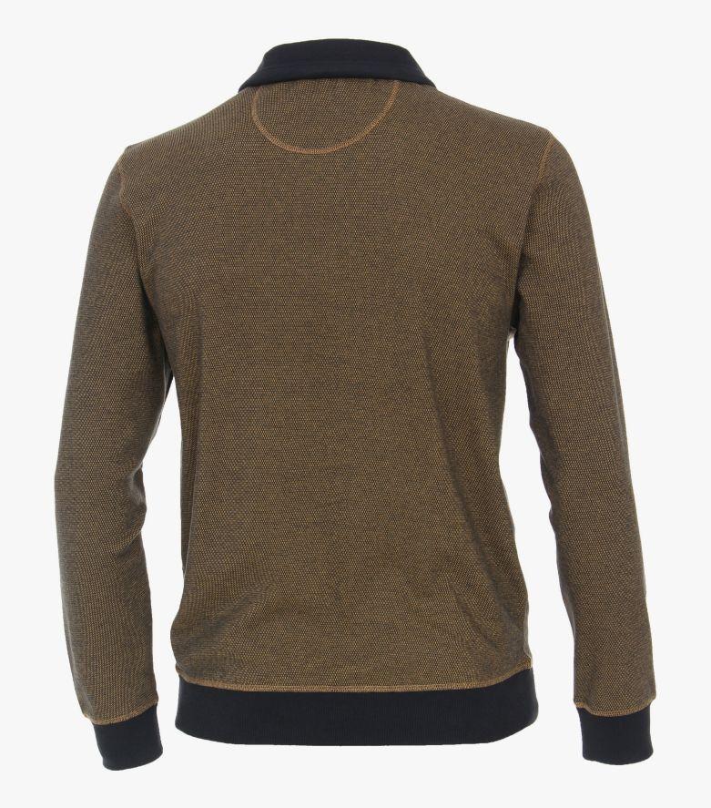 Sweatshirt in Senfgelb - CASAMODA