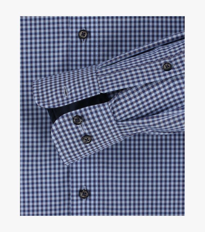 Businesshemd extra langer Arm 72cm in Hellblau Comfort Fit - CASAMODA