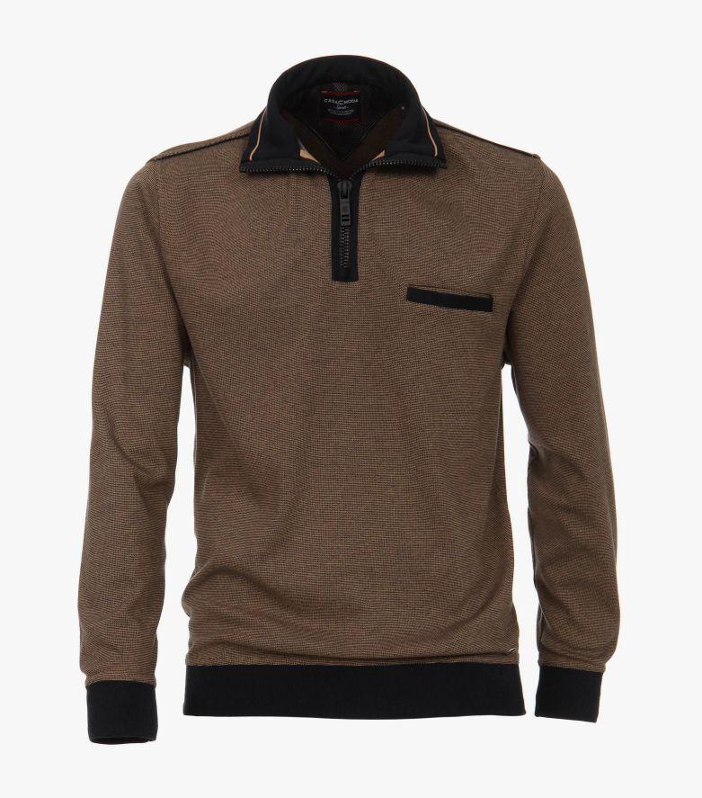 Sweatshirt in Hellbraun - CASAMODA