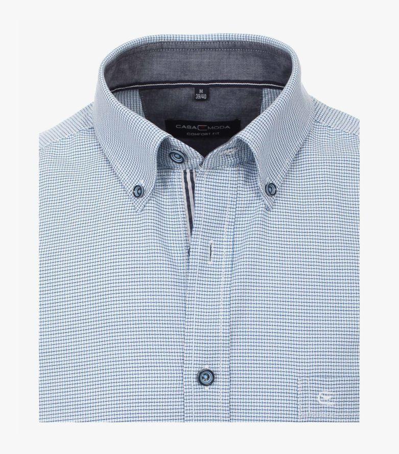 Freizeithemd in Hellblau Comfort Fit - CASAMODA