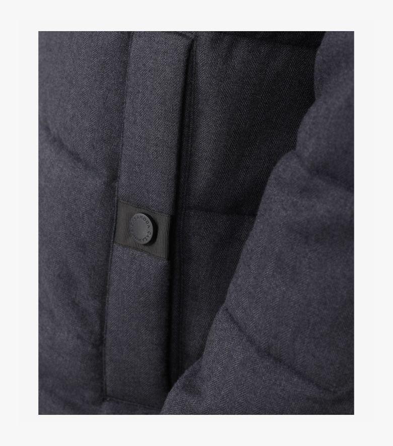 Jacke in graues Dunkelblau - CASAMODA