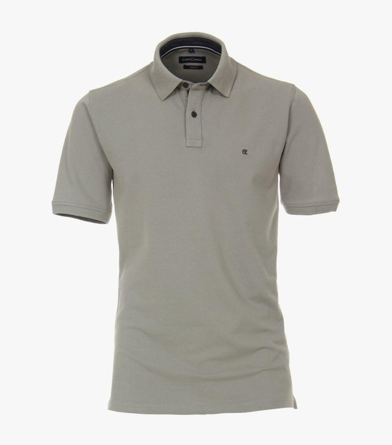Polo-Shirt in Grau - CASAMODA