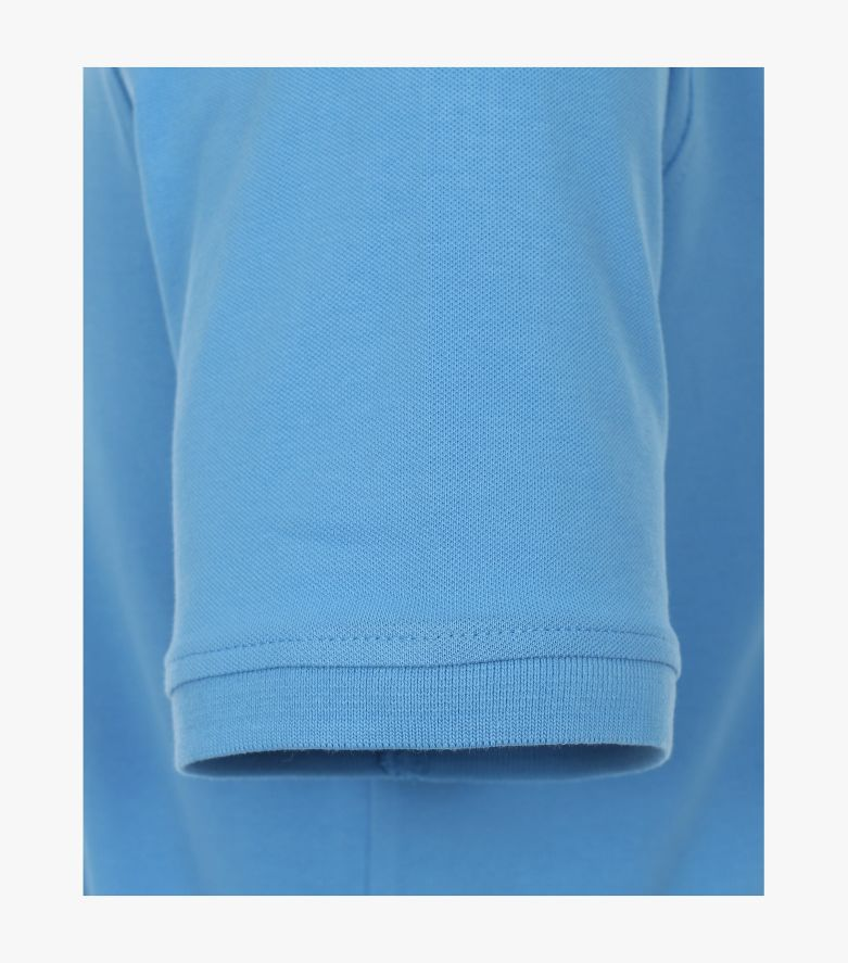 Polo-Shirt in Himmelblau - CASAMODA