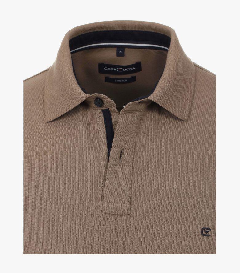 Polo-Shirt in Beige - CASAMODA