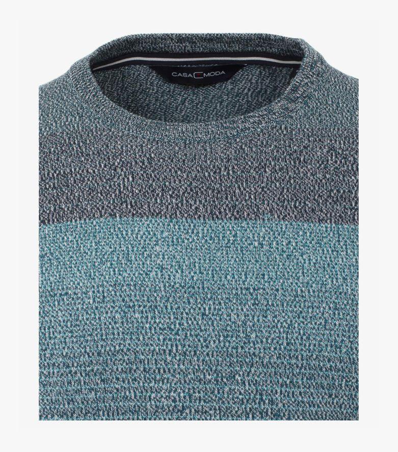 Pullover in Türkis - CASAMODA
