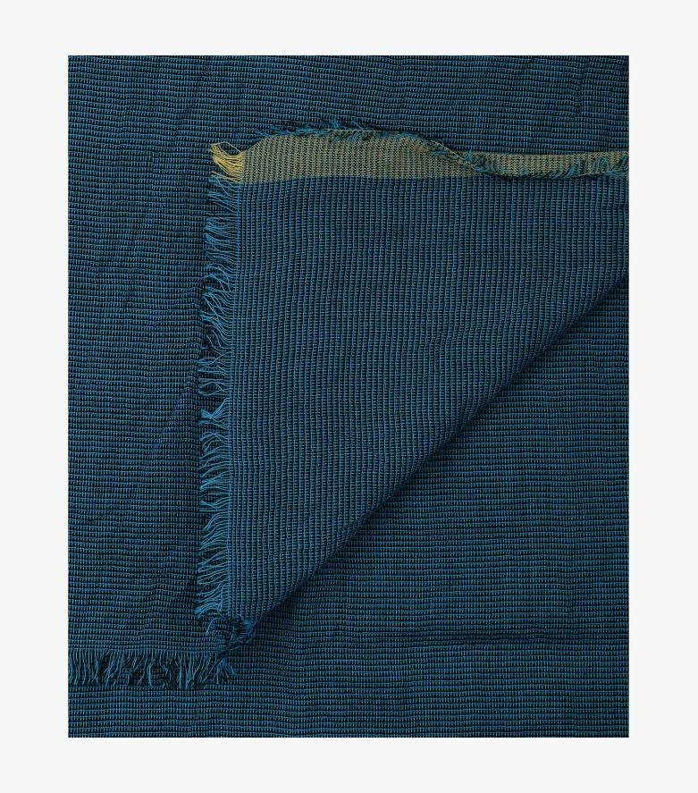 Schal in Mittelblau - CASAMODA